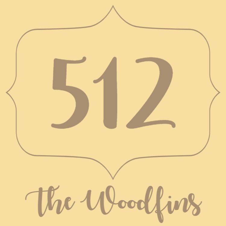 Wooden door number sign