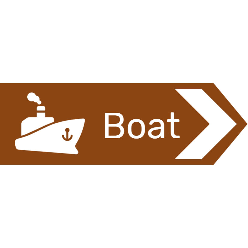 Boat sign