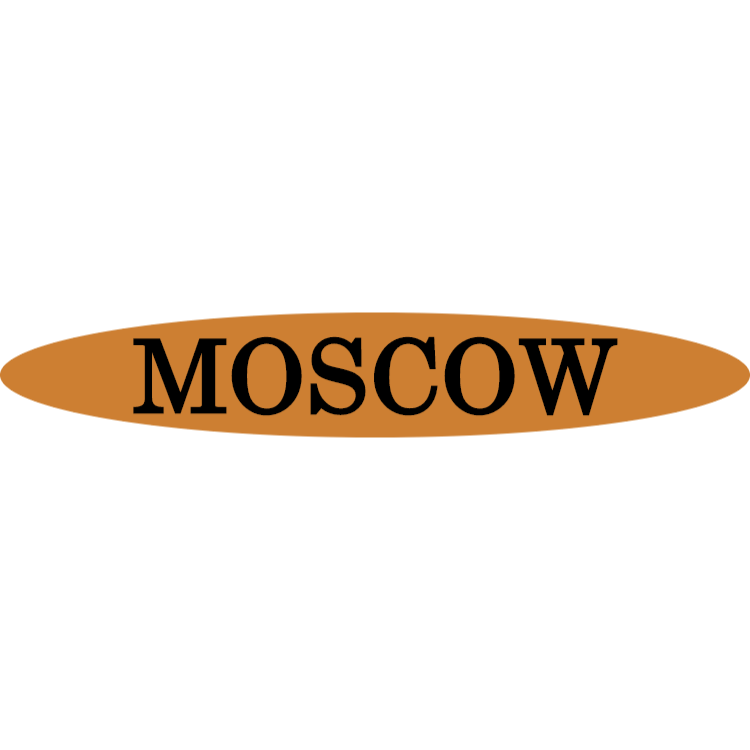 Moscow - gold sign