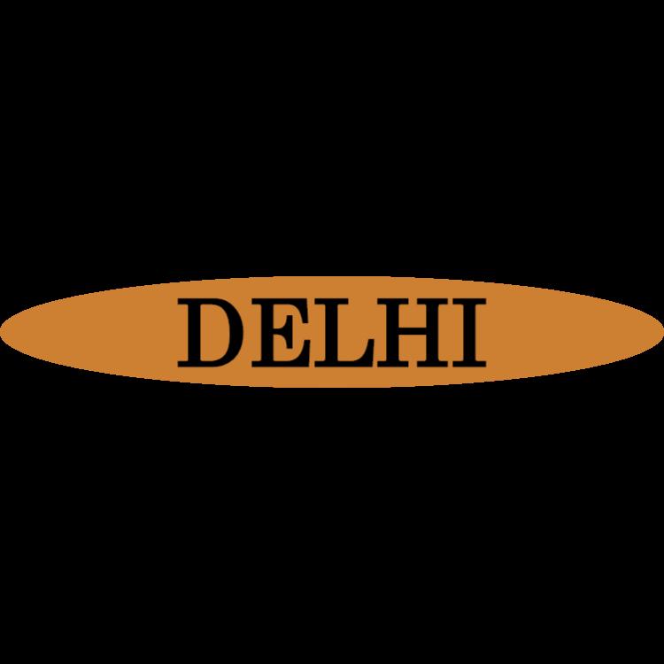 Delhi - gold sign