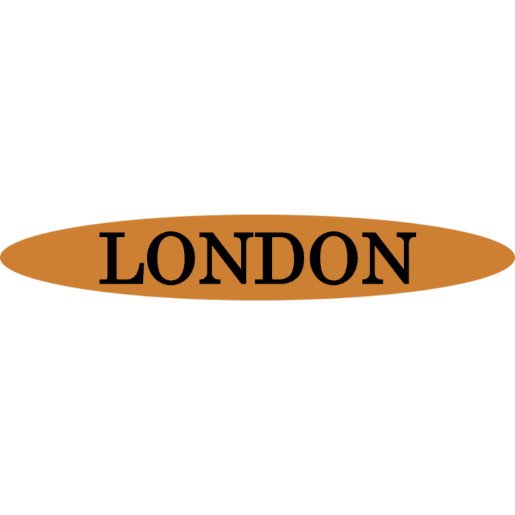 London - gold sign