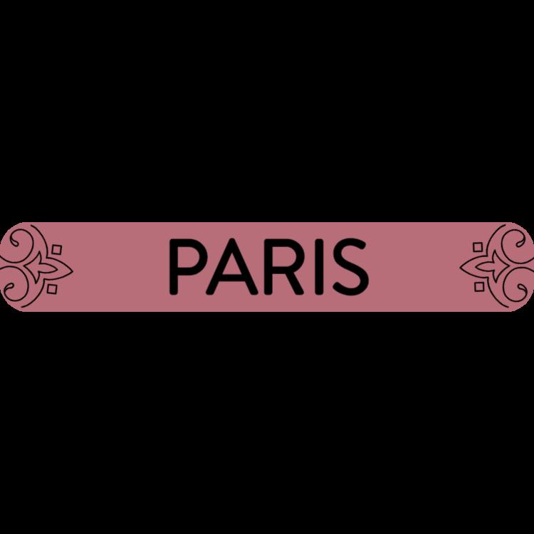 Paris - rose gold sign