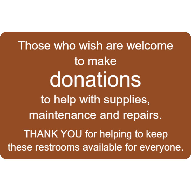 Welcome to make donations