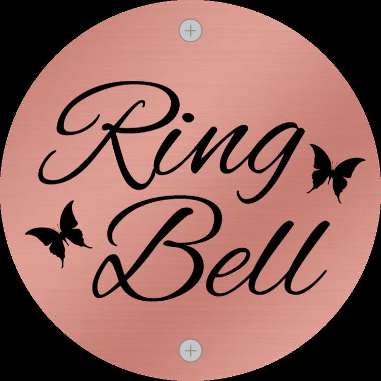Ring bell - rose gold