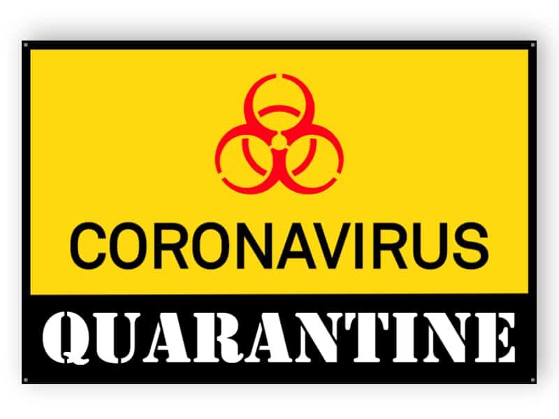 Coronavirus quarantine 1