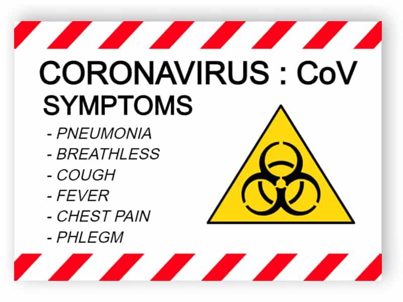 Coronavirus, CoV, symptoms